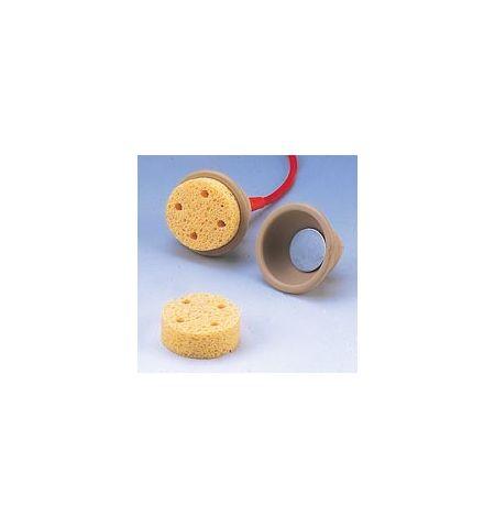 Tampons éponge ronds (diamètre 6 cm)