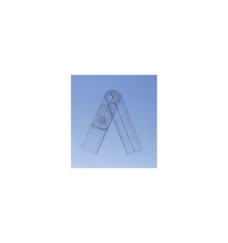 Goniometre plastique standard