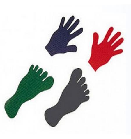 Découpe forme pied ou main