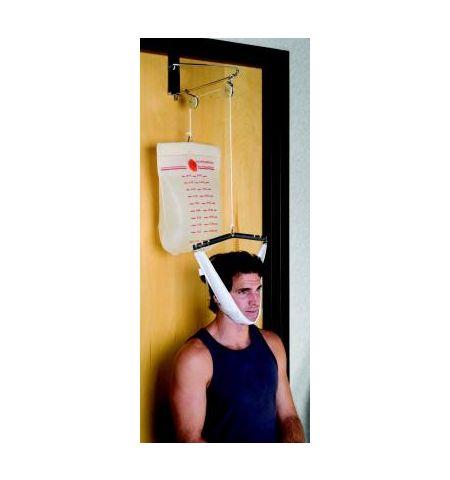 Dispositif de traction cervicale pour dessus de porte