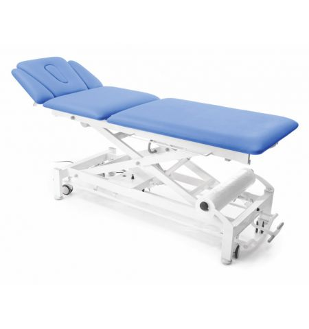 Table Chattanooga Galaxy 5 sections, repose bras, 4 roues, électrique